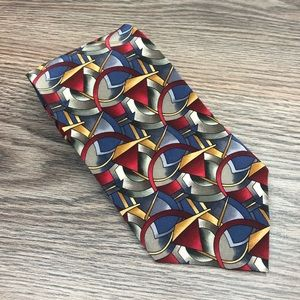 J. Garcia CLOCKWORKS Pattern Tie